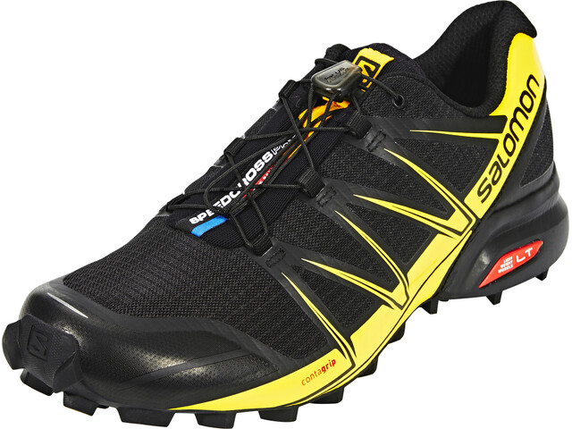 Salomon Speedcross Pro Trailrunning Shoes Men black/black/corona yellow